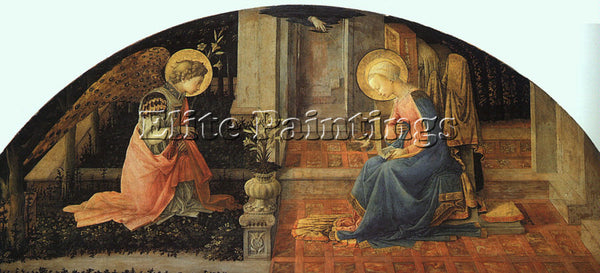 FRA FILIPPO LIPPI LIP20 ARTIST PAINTING REPRODUCTION HANDMADE CANVAS REPRO WALL