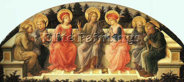 FRA FILIPPO LIPPI LIP21 ARTIST PAINTING REPRODUCTION HANDMADE CANVAS REPRO WALL