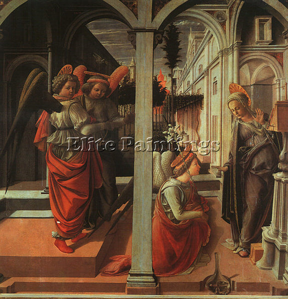 FRA FILIPPO LIPPI LIP22 ARTIST PAINTING REPRODUCTION HANDMADE CANVAS REPRO WALL