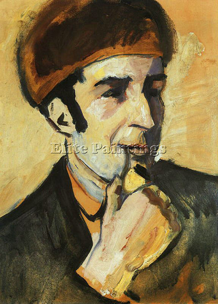 AUGUST MACKE MACKE17 ARTIST PAINTING REPRODUCTION HANDMADE OIL CANVAS REPRO WALL