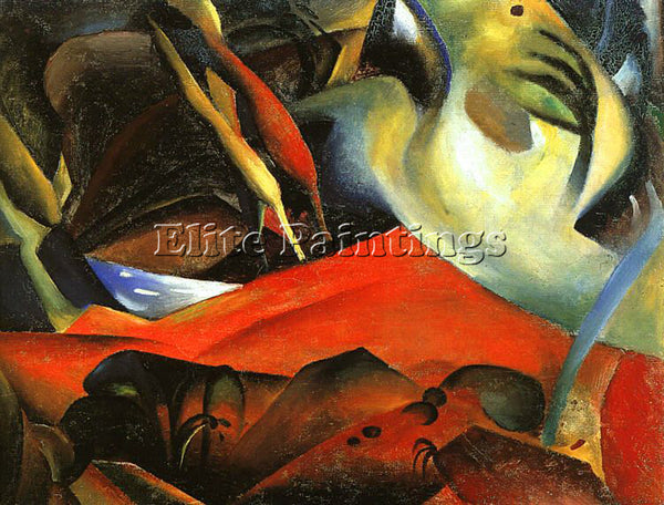 AUGUST MACKE MACKE19 ARTIST PAINTING REPRODUCTION HANDMADE OIL CANVAS REPRO WALL