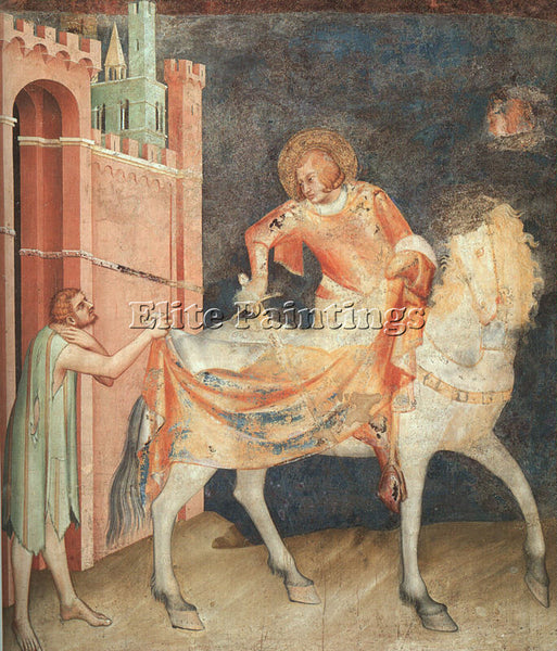 SIMONE MARTINI SM10 ARTIST PAINTING REPRODUCTION HANDMADE CANVAS REPRO WALL DECO