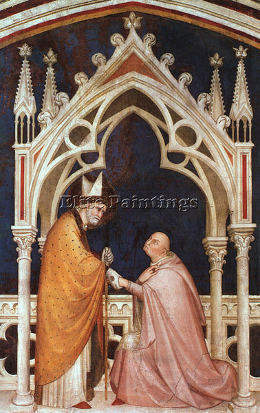 SIMONE MARTINI SM13 ARTIST PAINTING REPRODUCTION HANDMADE CANVAS REPRO WALL DECO