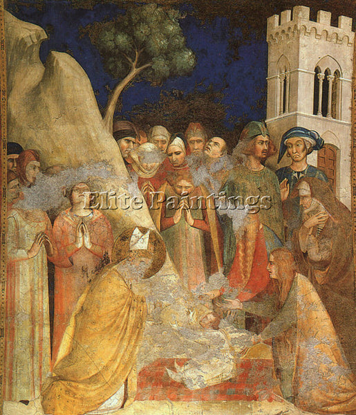 SIMONE MARTINI SM15 ARTIST PAINTING REPRODUCTION HANDMADE CANVAS REPRO WALL DECO