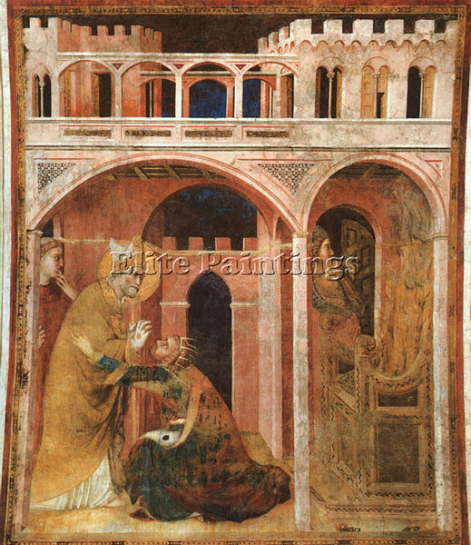 SIMONE MARTINI SM17 ARTIST PAINTING REPRODUCTION HANDMADE CANVAS REPRO WALL DECO
