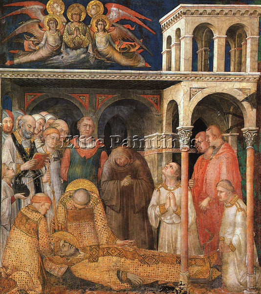 SIMONE MARTINI SM18 ARTIST PAINTING REPRODUCTION HANDMADE CANVAS REPRO WALL DECO