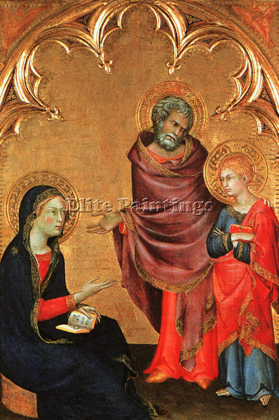 SIMONE MARTINI SM19 ARTIST PAINTING REPRODUCTION HANDMADE CANVAS REPRO WALL DECO