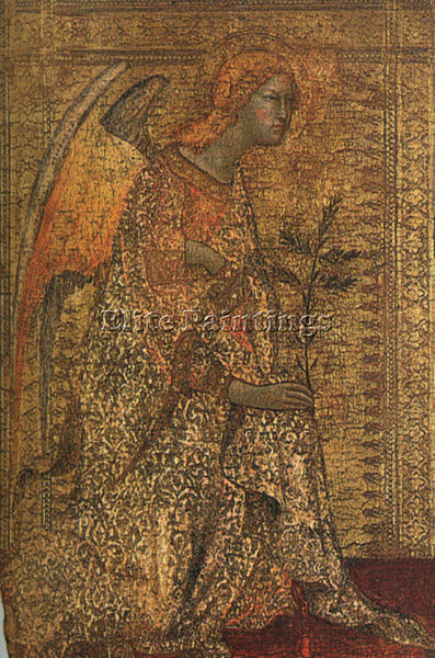 SIMONE MARTINI SM ARTIST PAINTING REPRODUCTION HANDMADE CANVAS REPRO WALL DECO