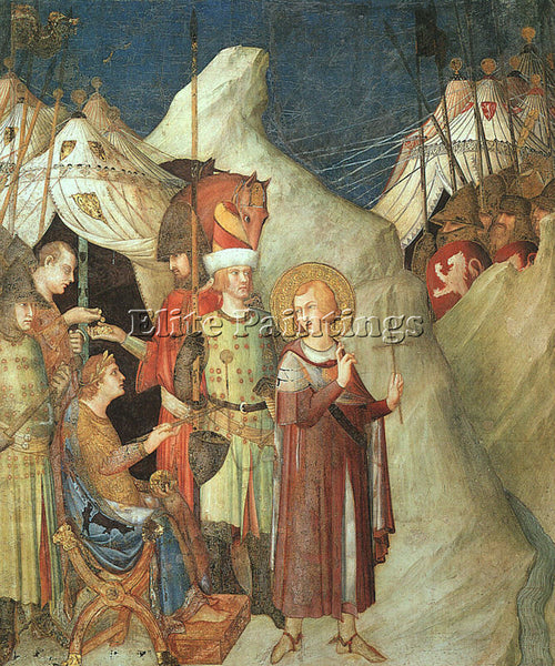 SIMONE MARTINI SMI1 ARTIST PAINTING REPRODUCTION HANDMADE CANVAS REPRO WALL DECO