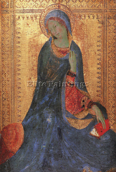 SIMONE MARTINI SMI6 ARTIST PAINTING REPRODUCTION HANDMADE CANVAS REPRO WALL DECO