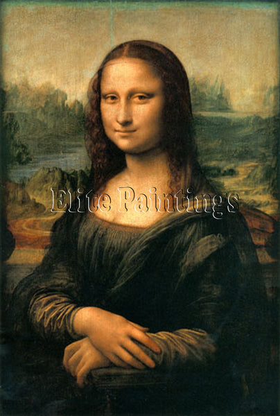 FAMOUS PAINTINGS MONA LISA 171 ARTIST PAINTING REPRODUCTION HANDMADE OIL CANVAS