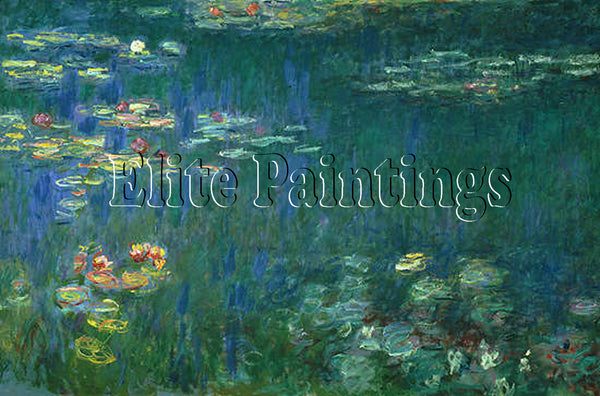 FAMOUS PAINTINGS MONET GREE REFLECTIONS 7320004 ARTIST PAINTING REPRODUCTION OIL