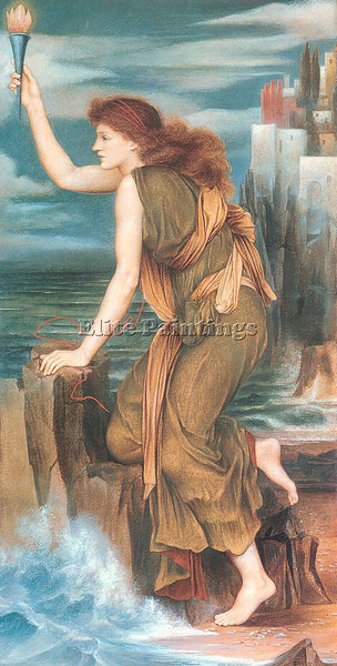 MORGAN EVELYN DE ME1 ARTIST PAINTING REPRODUCTION HANDMADE OIL CANVAS REPRO WALL