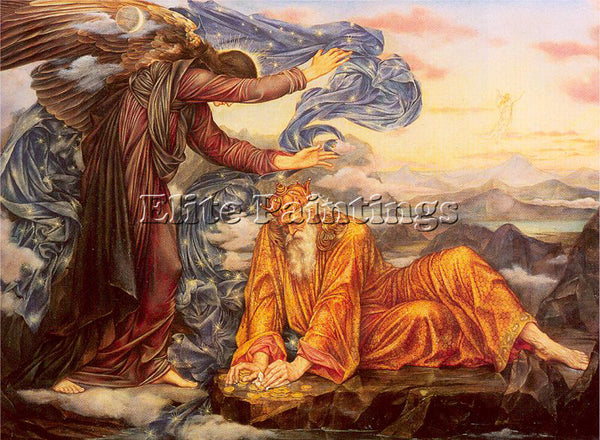 MORGAN EVELYN DE ME2 ARTIST PAINTING REPRODUCTION HANDMADE OIL CANVAS REPRO WALL
