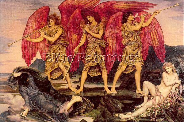 MORGAN EVELYN DE ME6 ARTIST PAINTING REPRODUCTION HANDMADE OIL CANVAS REPRO WALL