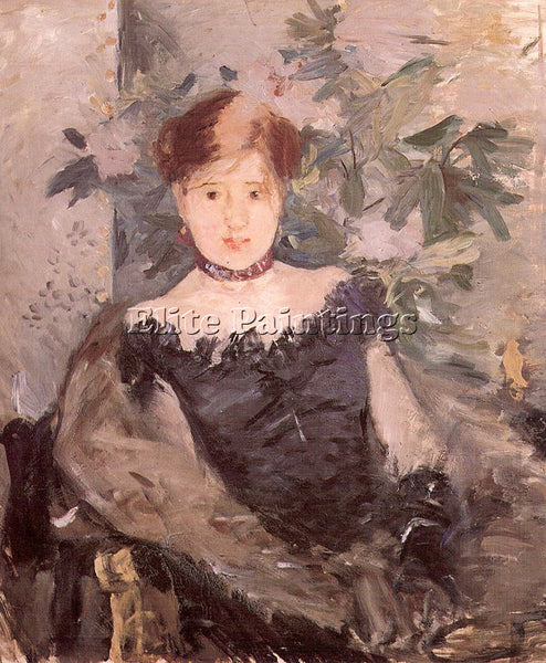 BERTHE MORISOT MOR1 ARTIST PAINTING REPRODUCTION HANDMADE CANVAS REPRO WALL DECO