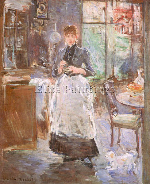 BERTHE MORISOT MOR23 ARTIST PAINTING REPRODUCTION HANDMADE OIL CANVAS REPRO WALL
