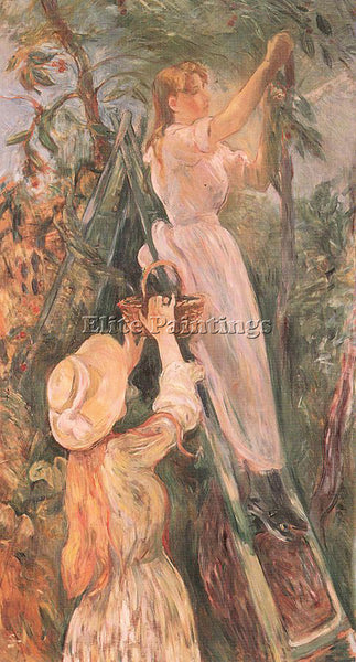 BERTHE MORISOT MOR24 ARTIST PAINTING REPRODUCTION HANDMADE OIL CANVAS REPRO WALL