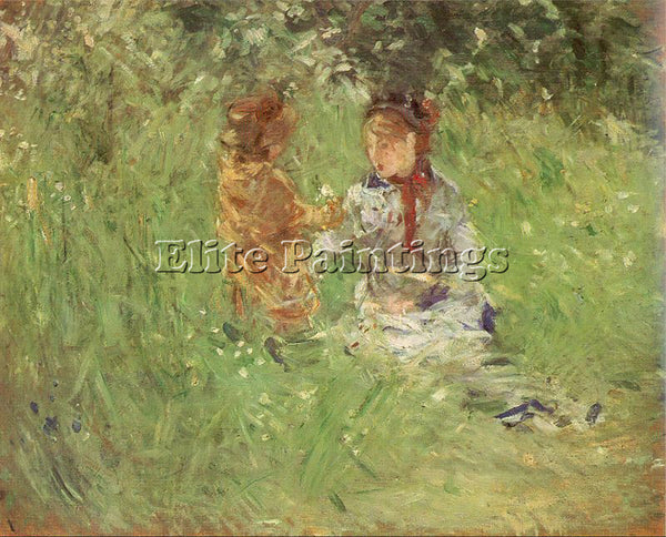 BERTHE MORISOT MOR25 ARTIST PAINTING REPRODUCTION HANDMADE OIL CANVAS REPRO WALL