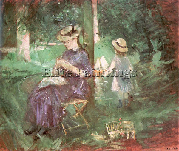 BERTHE MORISOT MOR26 ARTIST PAINTING REPRODUCTION HANDMADE OIL CANVAS REPRO WALL