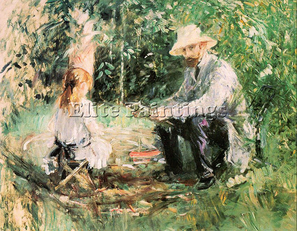 BERTHE MORISOT MOR27 ARTIST PAINTING REPRODUCTION HANDMADE OIL CANVAS REPRO WALL