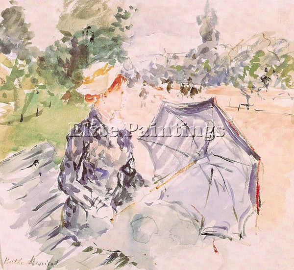 BERTHE MORISOT MOR32 ARTIST PAINTING REPRODUCTION HANDMADE OIL CANVAS REPRO WALL