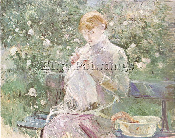 BERTHE MORISOT MOR34 ARTIST PAINTING REPRODUCTION HANDMADE OIL CANVAS REPRO WALL