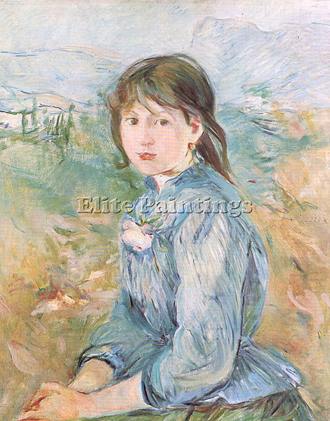 BERTHE MORISOT MOR35 ARTIST PAINTING REPRODUCTION HANDMADE OIL CANVAS REPRO WALL