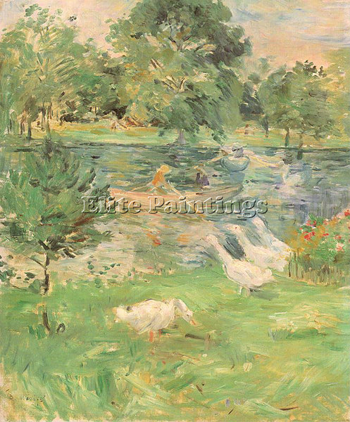 BERTHE MORISOT MOR36 ARTIST PAINTING REPRODUCTION HANDMADE OIL CANVAS REPRO WALL