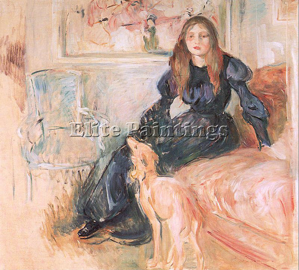 BERTHE MORISOT MOR39 ARTIST PAINTING REPRODUCTION HANDMADE OIL CANVAS REPRO WALL
