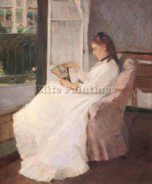 BERTHE MORISOT MOR4 ARTIST PAINTING REPRODUCTION HANDMADE CANVAS REPRO WALL DECO