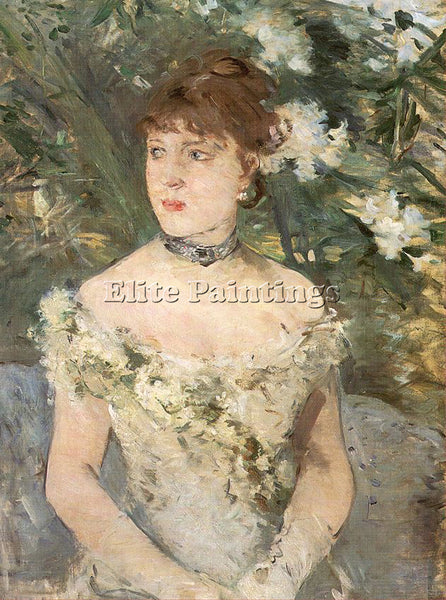 BERTHE MORISOT MOR9 ARTIST PAINTING REPRODUCTION HANDMADE CANVAS REPRO WALL DECO