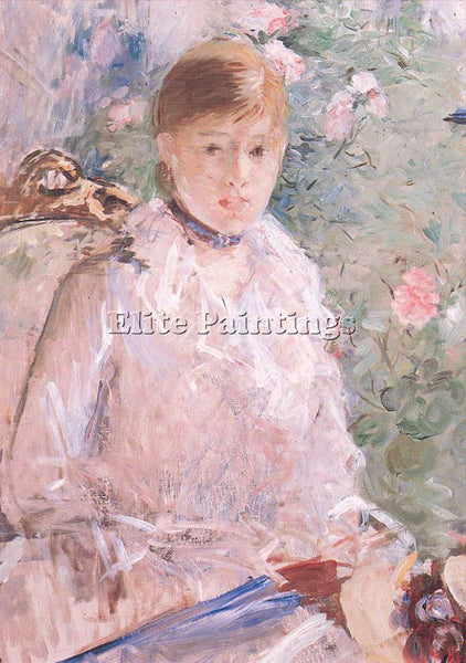 BERTHE MORISOT MOR ARTIST PAINTING REPRODUCTION HANDMADE CANVAS REPRO WALL DECO
