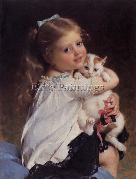 EMILE MUNIER 1882 1 HER BEST FRIEND ARTIST PAINTING REPRODUCTION HANDMADE OIL