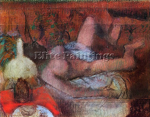 EDGAR DEGAS NUDO FEMMINILE DEGAS ARTIST PAINTING REPRODUCTION HANDMADE OIL REPRO