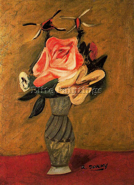 ARSHILE GORKY GORK13 ARTIST PAINTING REPRODUCTION HANDMADE OIL CANVAS REPRO WALL