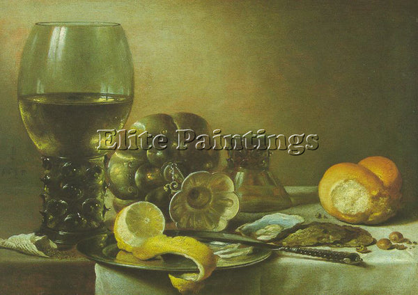 PIETER CLAESZ CLAE2 ARTIST PAINTING REPRODUCTION HANDMADE CANVAS REPRO WALL DECO