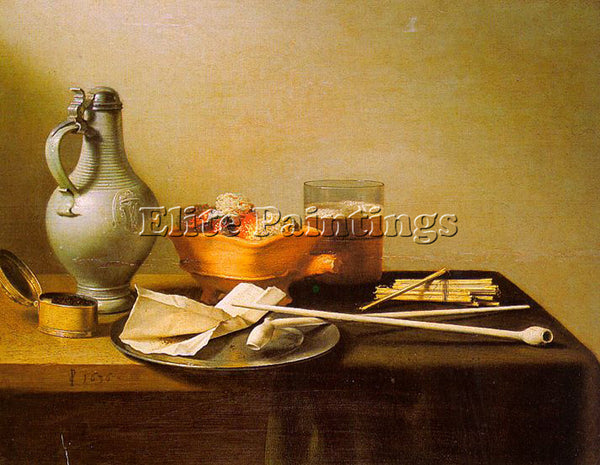 PIETER CLAESZ CLAE7 ARTIST PAINTING REPRODUCTION HANDMADE CANVAS REPRO WALL DECO