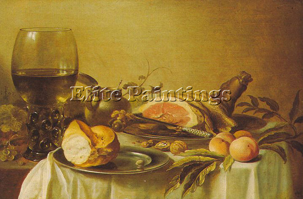 PIETER CLAESZ CLAE8 ARTIST PAINTING REPRODUCTION HANDMADE CANVAS REPRO WALL DECO