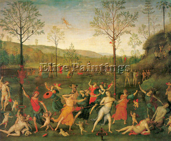 PIETRO VANNUCCI PERUGINO10 ARTIST PAINTING REPRODUCTION HANDMADE OIL CANVAS DECO