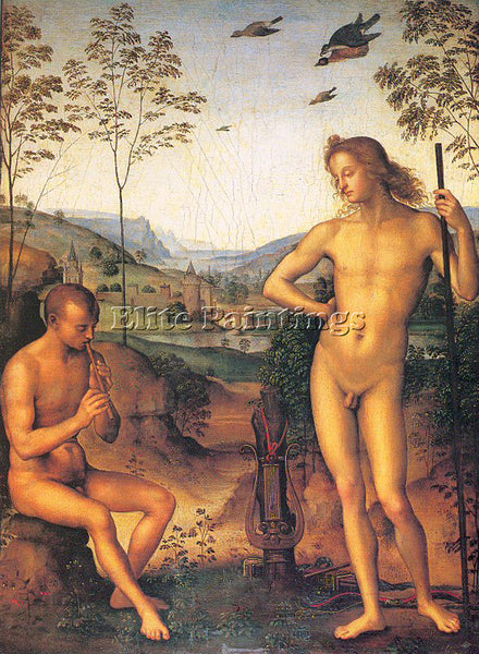 PIETRO VANNUCCI PERUGINO11 ARTIST PAINTING REPRODUCTION HANDMADE OIL CANVAS DECO