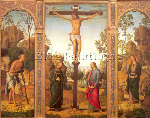 PIETRO VANNUCCI PERUGINO14 ARTIST PAINTING REPRODUCTION HANDMADE OIL CANVAS DECO