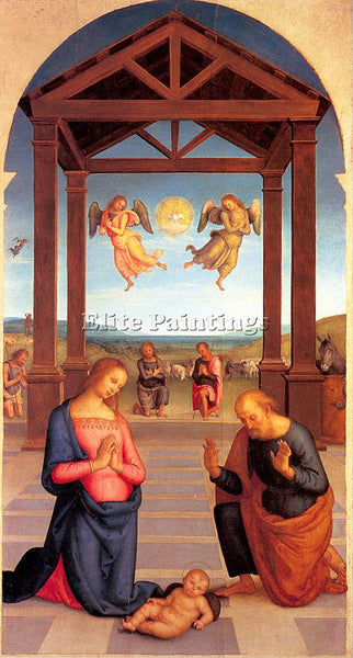 PIETRO VANNUCCI PERUGINO1 ARTIST PAINTING REPRODUCTION HANDMADE OIL CANVAS REPRO
