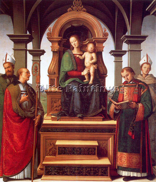 PIETRO VANNUCCI PERUGINO21 ARTIST PAINTING REPRODUCTION HANDMADE OIL CANVAS DECO