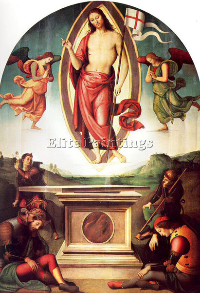 PIETRO VANNUCCI PERUGINO22 ARTIST PAINTING REPRODUCTION HANDMADE OIL CANVAS DECO