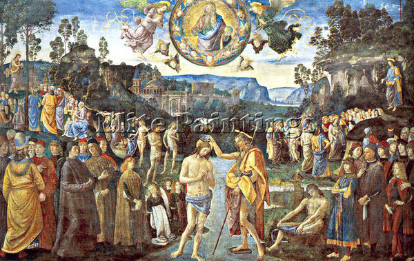 PIETRO VANNUCCI PERUGINO23 ARTIST PAINTING REPRODUCTION HANDMADE OIL CANVAS DECO