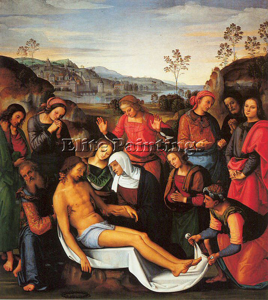 PIETRO VANNUCCI PERUGINO27 ARTIST PAINTING REPRODUCTION HANDMADE OIL CANVAS DECO