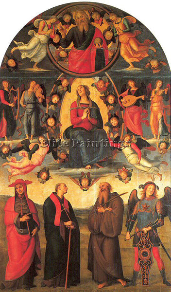 PIETRO VANNUCCI PERUGINO28 ARTIST PAINTING REPRODUCTION HANDMADE OIL CANVAS DECO