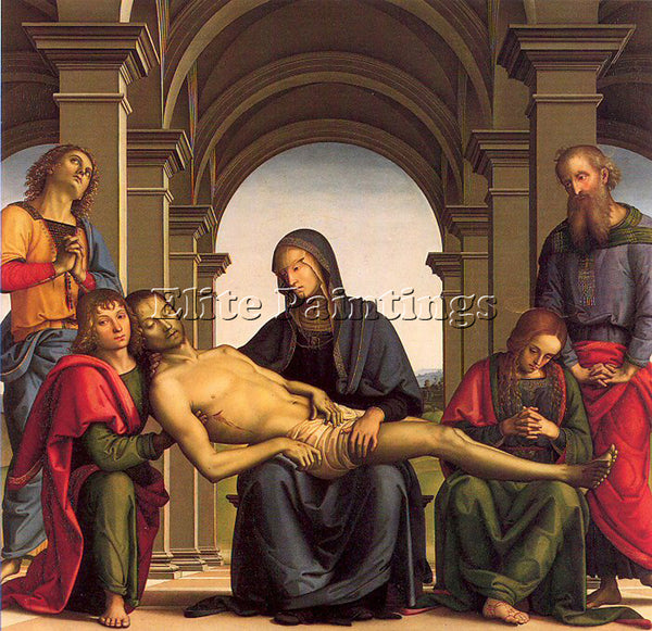 PIETRO VANNUCCI PERUGINO31 ARTIST PAINTING REPRODUCTION HANDMADE OIL CANVAS DECO