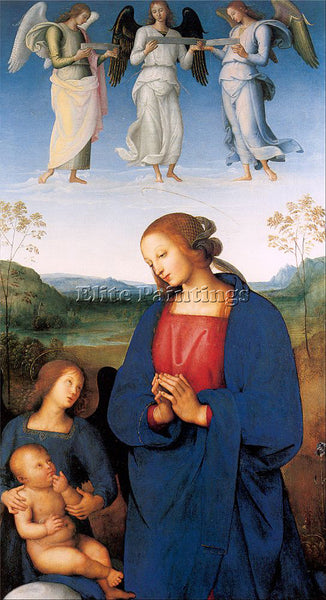 PIETRO VANNUCCI PERUGINO3 ARTIST PAINTING REPRODUCTION HANDMADE OIL CANVAS REPRO